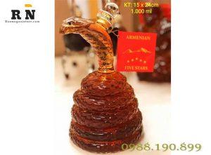 rượu phon thủy hình con rắn